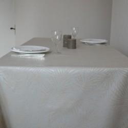 Nappe enduite en tissu enduit grande largeur  180 cm Cornélia