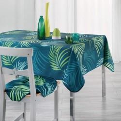 Nappe en polyester facile d'entretien Karine motif jungle