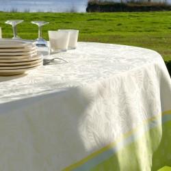Nappe en jacquard fil teint 100% polyester très chic