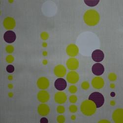 Toile cirée grande largeur 180 cm avec un motif géométrique moderne
