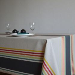 Toile de savoie enduite à l'esprit basque