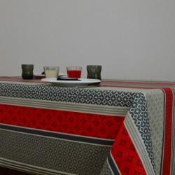 Toile enduite au mètre avec des coloris et des motifs modernes