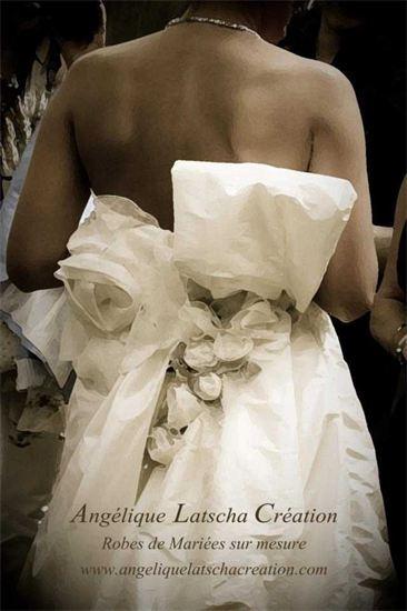 Angélique Latscha Créations, Robes de mariées sur mesure