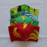 Masques de protection réalisés en coton