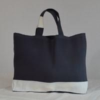 Cabas ou sac de plage en toile à transat