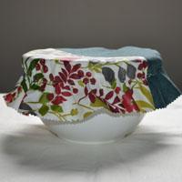Charlotte réalisée en toile enduite ou tissu enduit