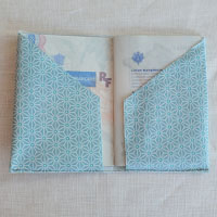 Protège passeport en toile enduite ou tissu enduit